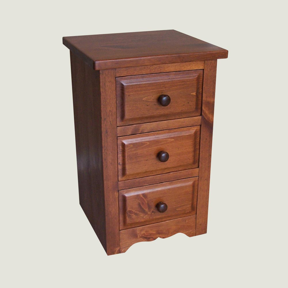 Nightstand 3 drawer true north for Q furniture abbotsford