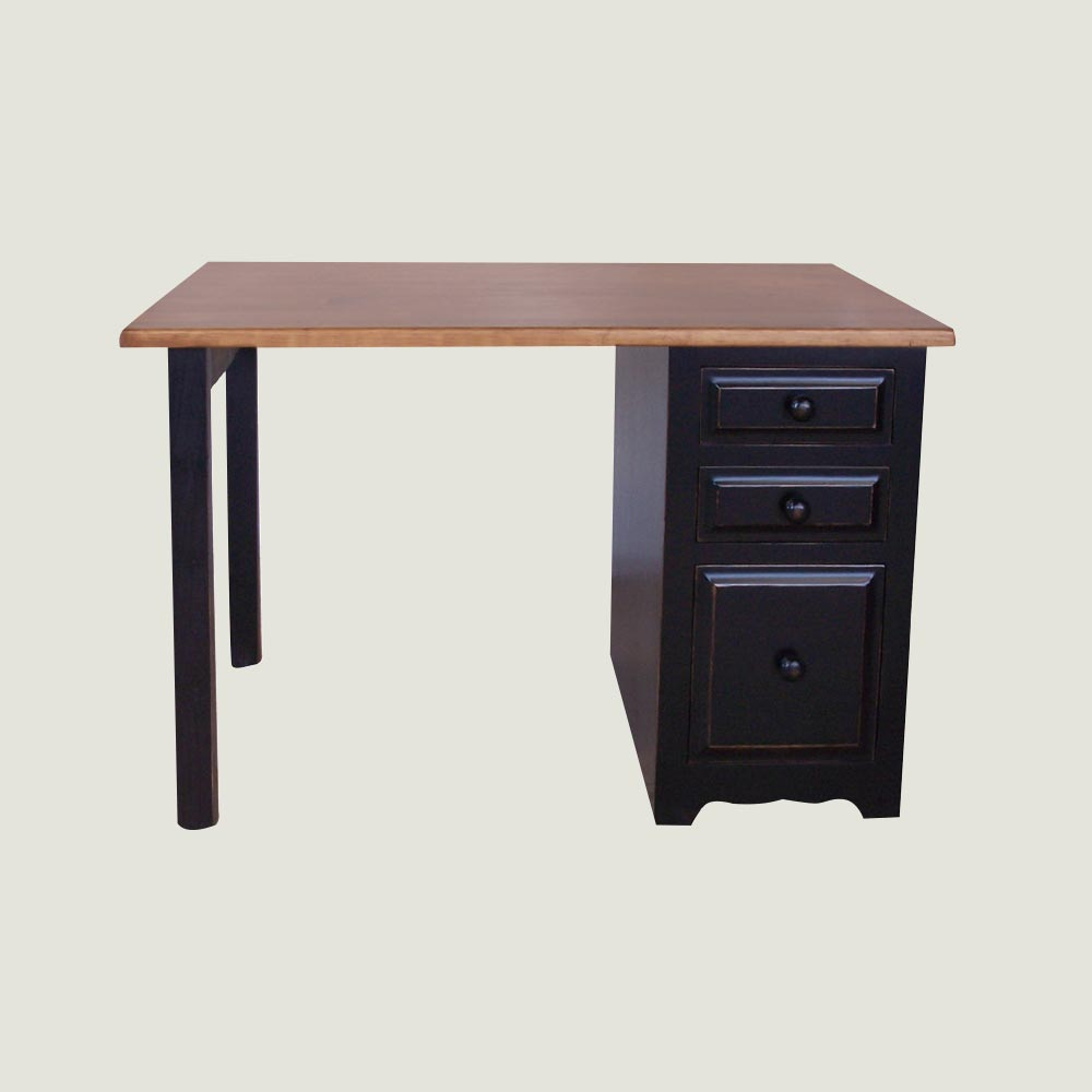 Desk Three Drawer Filing Pedestal